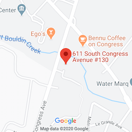 Austin Location on Google Map