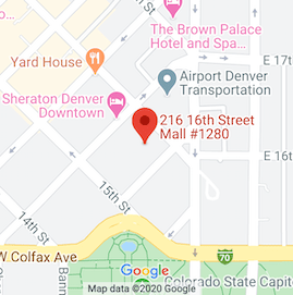 Denver Location on Google Map