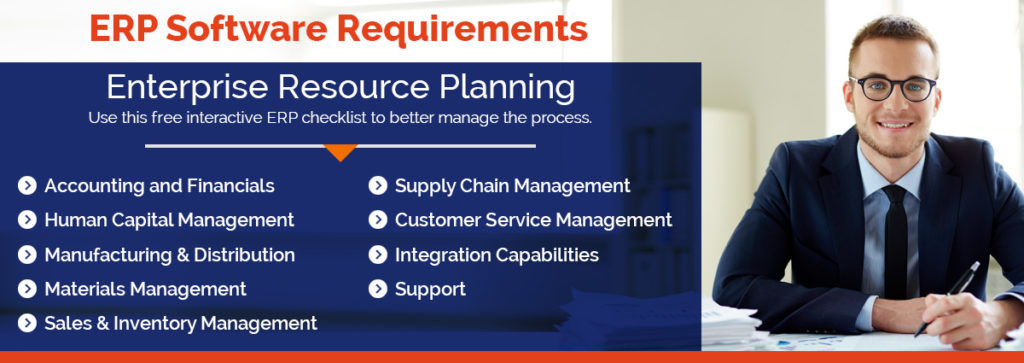 ERP Requirements Checklist and Template