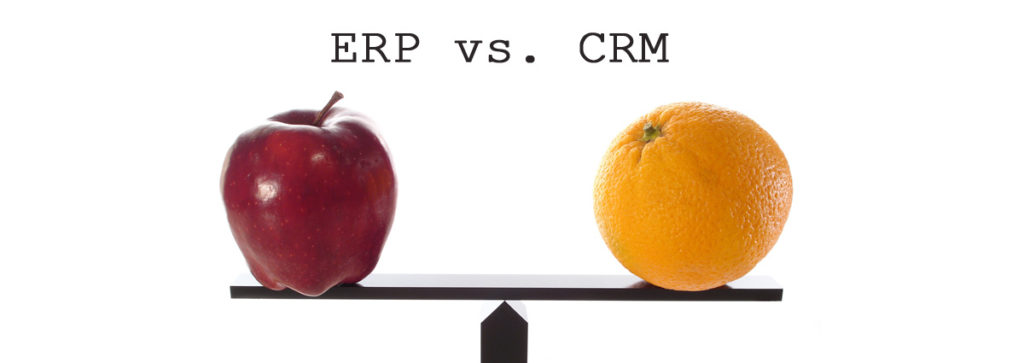 The Difference Between ERP and CRM