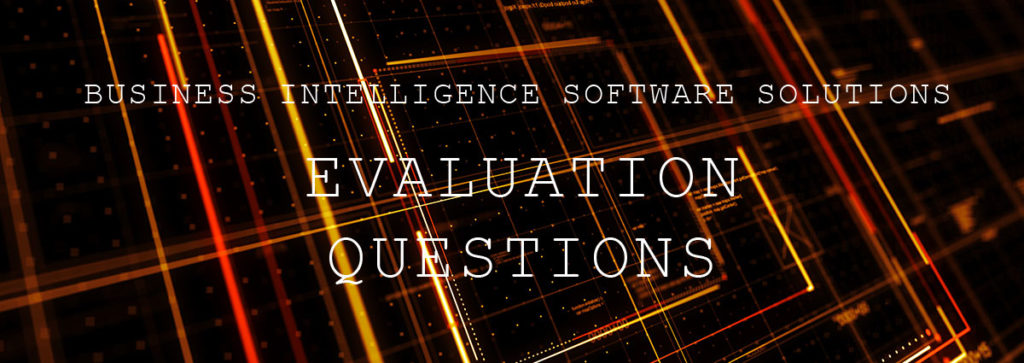 5 Questions Before Selecting Business Intelligence Software Solutions