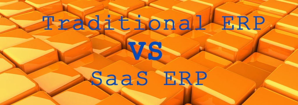 What's the Difference between Traditional vs. SaaS ERP?