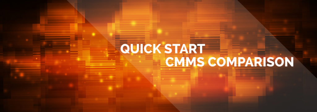 Quick-Start CMMS Software Comparison