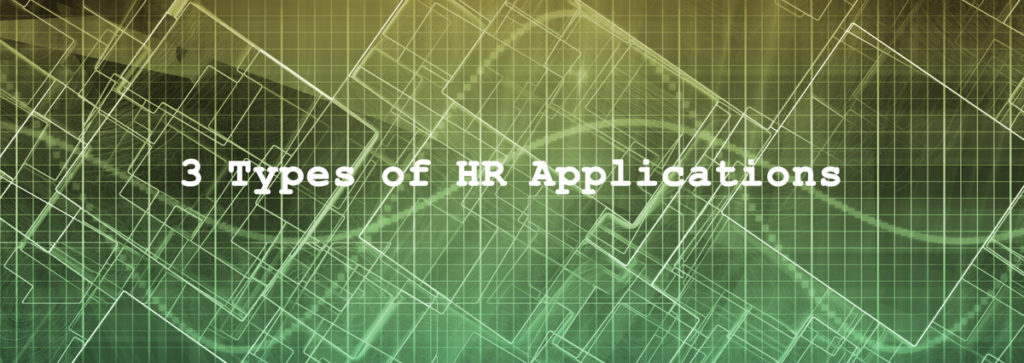 The 3 Categories of HR Software Applications