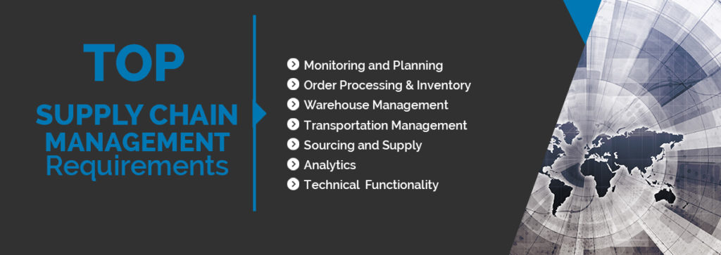 Critical Supply Chain Management Software Features and Requirements