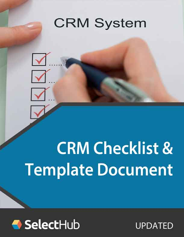 CRM Checklist and Template Document
