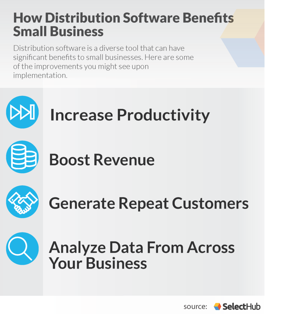 distribution software small business benefits