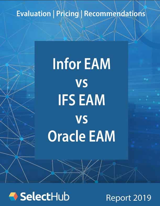 Infor EAM vs. IFS EAM vs. Oracle EAM: Evaluations | Pricing | Recommendations
