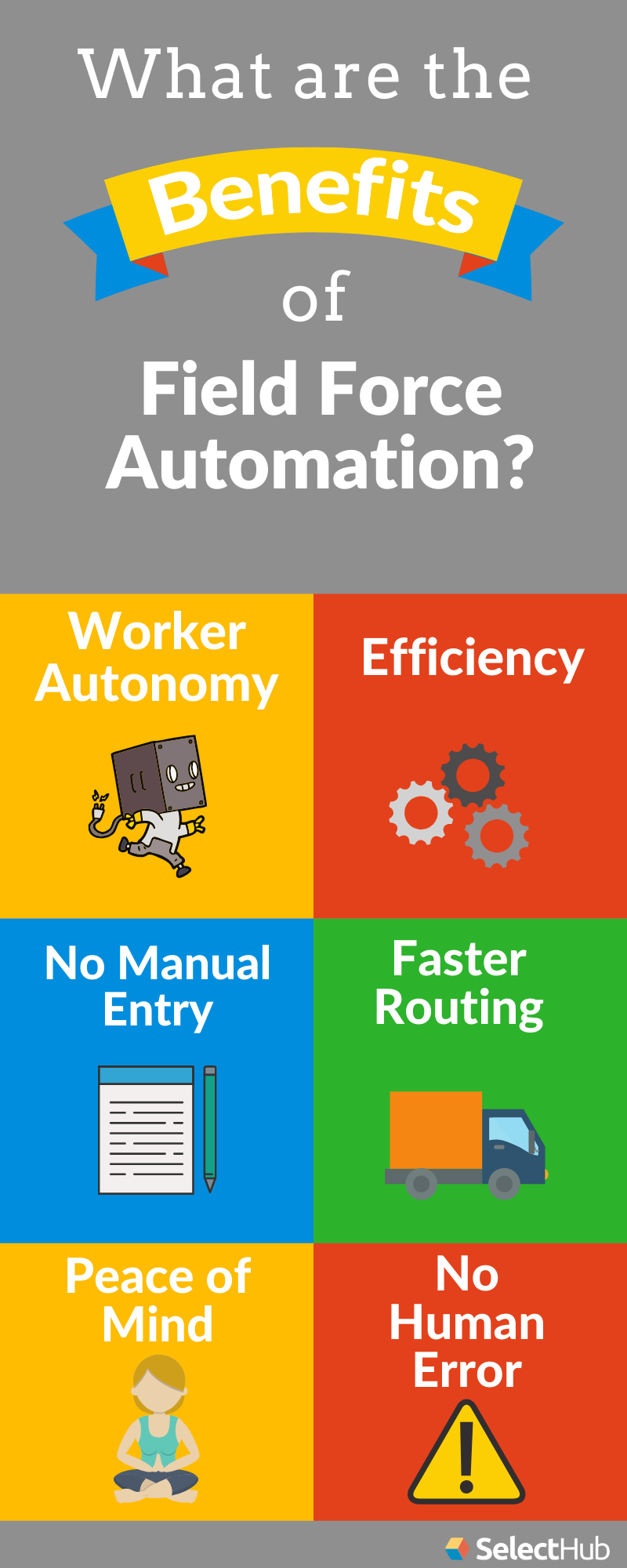 Benefits of Field Force Automation