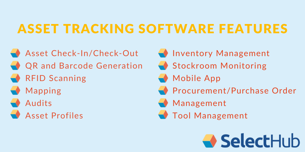 Features of Asset Tracking Software