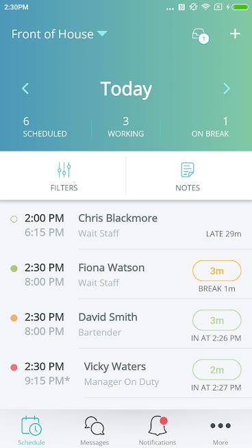 OpenSimSim Employee Scheduling