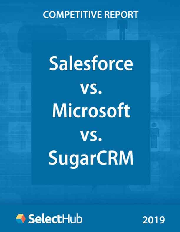 Salesforce vs. Microsoft Dynamics vs. SugarCRM - Competitive Report