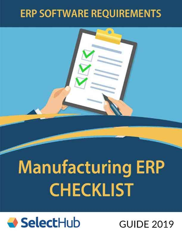 ERP Software Requirements: Manufacturing ERP Checklist