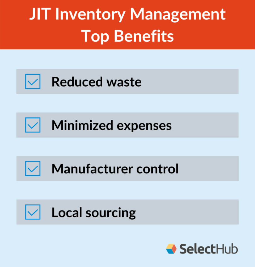 JIT Inventory Management Benefits
