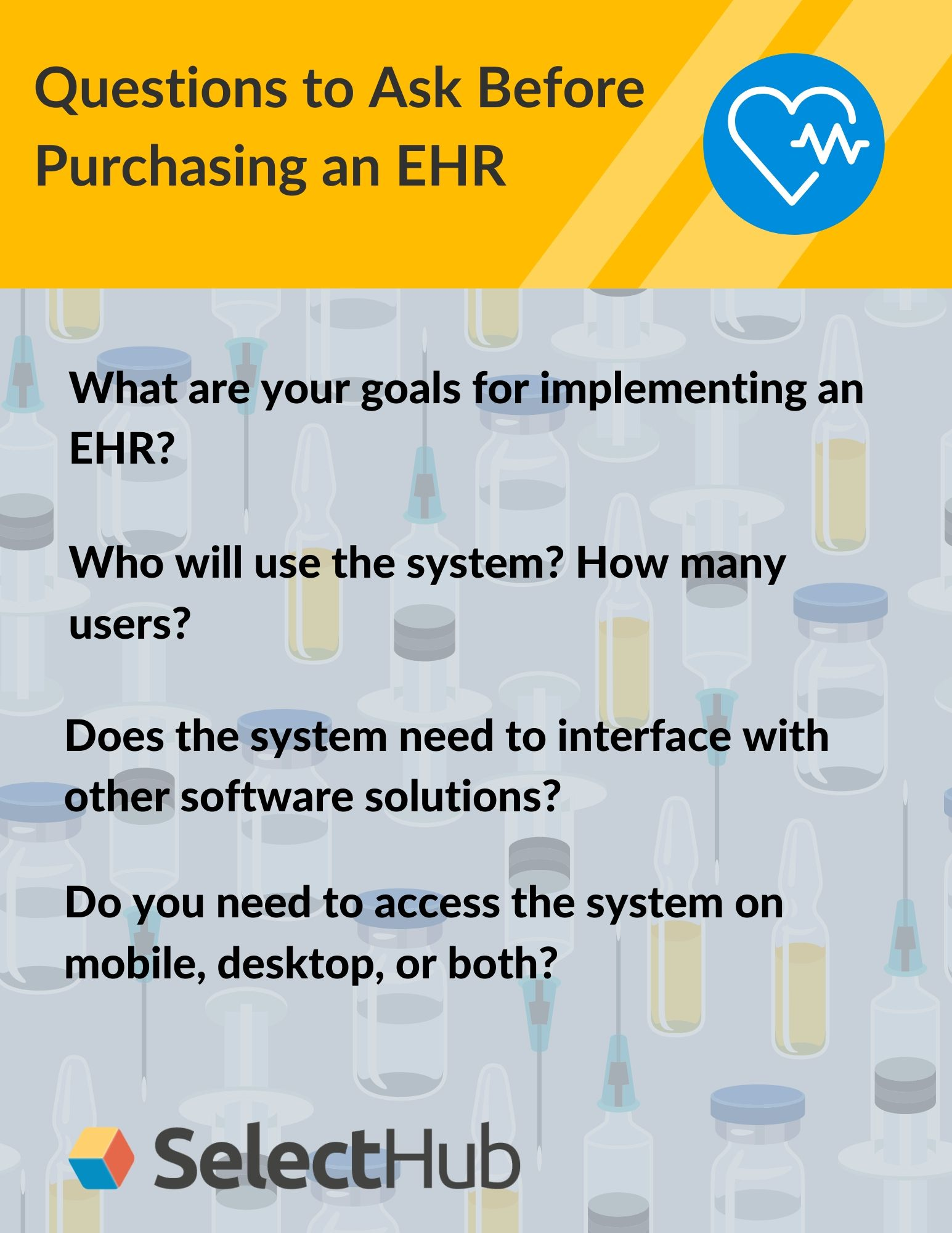 Questions to Ask Before Purchasing an EHR